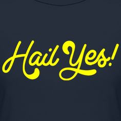 "Give a ""Hail Yes"" if you think Michigan can beat OSU!"