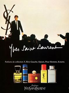 Yves Saint-Laurent (Perfumes) 1982 Vintage advert Perfumes | Hprints.com