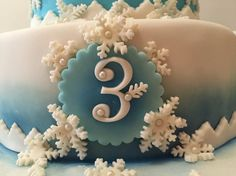 Number 3 - Frozen Cake