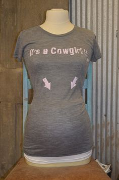 SUPER CUTE! Might could make my own cause this is expensive.(http://www.cowgirlclad.com/its-a-cowgirl/)