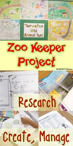 Your students will love being Zoo Keepers! Theyll research animals and biomes, design a a habit and then manage the zoo. Packed full of reading, writing and math skills. Perfect project for the end of the school year.