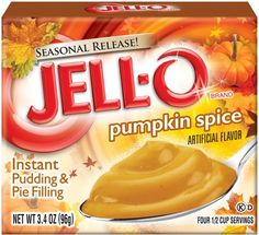 Jell-O Pumpkin Spice Instant Pudding