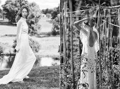 Delphine Manivetpropone una collezione diabiti da sposa 2016 dallo stile femminile e vintage grazie alla presenza di creazioni che si rifanno alla moda bridal anni '70 con protagonisti mod…
