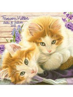 Franciens Katten kalender 2018by Francien van Westering. Nu te koop in de webshop https://www.francienskattenshop.com/kalenders/jaarkalenders.html