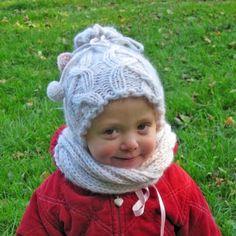 Čepička a nákrčník Knitted Hats, Crochet Hats, Winter Hats, Knitting, Creative, Knitting Hats, Tricot, Knit Caps, Cast On Knitting