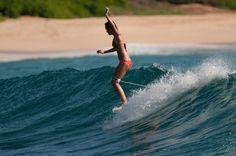 Justine Mauvin   #surf