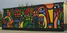 Mural 15 m.ancho por 4,50 de alto en XIanjien, por Mono González