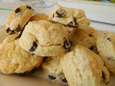 Chocolate Chip Scones by JACEhomemade on Etsy, $8.00