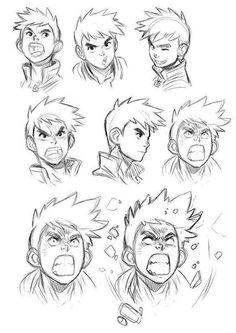 dibujar-las-expresiones-del-rostro-2dibujar-las-expresiones-del-rostro-2