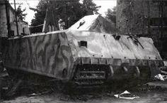 Destroyed Maus V2 prototype