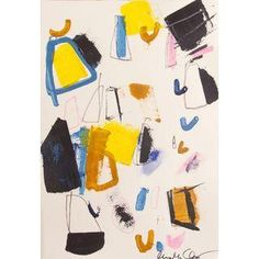 Obsessed with this Heather Chontos Multicolor Abstract Print No. 5.