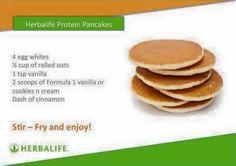 Herbalife pancakes