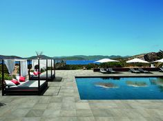Porcelain stoneware outdoor floor tiles OUT 2.0 by Ceramiche Refin