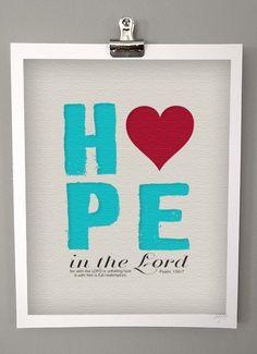 hope, $18