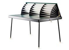Twist le bureau accordéon par Magdalena Tekieli - Blog Esprit Design