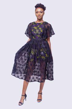 Ankara Dress Styles, African Print Dresses, African Fashion Dresses, African Dress, African Style, African Prints, African Lace, African Wear, African Fabric
