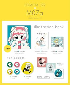 Twitter Menu Design, Game Design, Book Design, Artist Alley, Catalog Design, News Space, Stationery Design, Portfolio Design, Badge