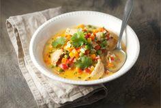 Broileri-kasviskeitto on nopea ja herkullinen keitto arkeen. http://www.valio.fi/reseptit/broileri-kasviskeitto/ #resepti #ruoka