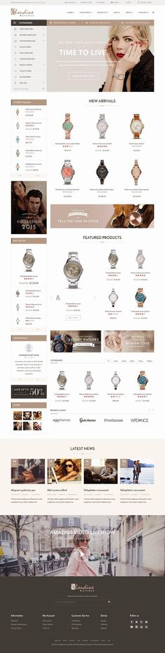 Claudine is an new premium Drag & Drop Responsive #OpenCart Theme 2015. It comes with 2 pre build layouts for #Minimal #Shop: Full width main Slider, dual display of Product showcase, Video, Blog posts and Special Categories display and #Supermarket #Store: Vertical Menu, boxed Slider, Sidebar display, Video, Blog posts and various style of product showcases.