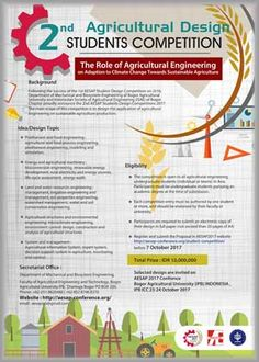 #AESAP #Student #Design #Competition #IPB #Bogor AESAP Student Design Competition 2017 Institut Pertanian Bogor  DEADLINE: October 7th, 2017  http://instuco.com/international-student-competition.php?title=aesap-student-design-competition-2017-institut-pertanian-bogor
