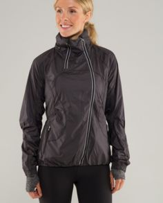 Best running jacket - with rainy/snowy days approaching, this will come in handy. Wait do people run in the snow? Hm