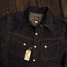 Mister Freedom Appaloosa Denim Shirt. Made in USA.