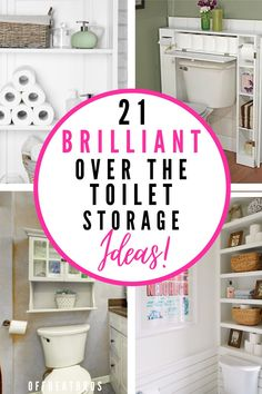 Home Decor Hacks, Home Organization Hacks, Storage Hacks, Diy Storage, Home Decor Furniture, Bathroom Organization, Organizing Ideas, Storage Ideas, Over Toilet Storage