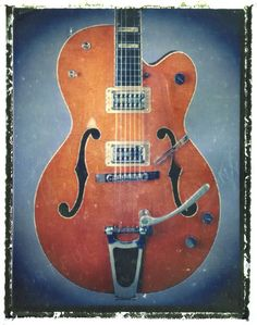 Hey, I found this really awesome Etsy listing at https://www.etsy.com/listing/112932174/gift-for-guy-guitar-print-orange-vintage