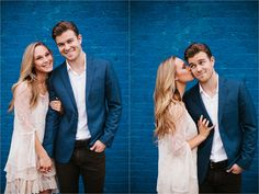 A colorful, urban, romantic, ethereal engagement sesison in Deep Ellum and White Rock Lake _ Images by North Texas Wedding Photographer Rachel Meagan Photography _ 44