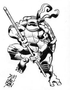Teenage Mutant Ninja Turtles Donatello by Jim Lawson
