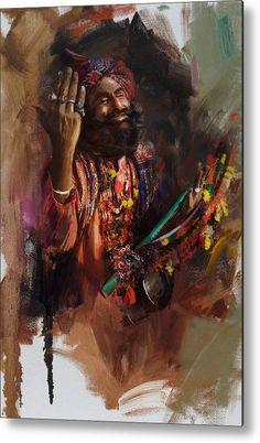 Saatchi Art: 004 Sindh Painting by Corporate Art Task Force Dance Paintings, Indian Art Paintings, Painting Art, Mughal Paintings, Rajasthani Painting, Abstract Painters, Art Design, Design Ideas, Landscape Art