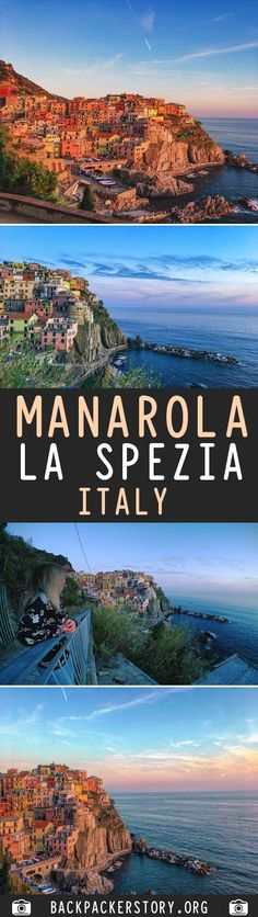 """Manarola is a small town in the province of La spezia in northern Italy. Manarola is one of the five """"Cinque Terre"""" villages. La Spezia Italy, Backpacker, Cheap Web Hosting, Big, Pictures, Outdoor, Photos, Outdoors, Outdoor Games"""