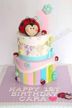 Celebrate with Cake!: Ladybug Cake