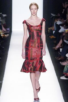 Carolina Herrera Fall 2005 Ready-to-Wear Fashion Show - Raquel Zimmermann