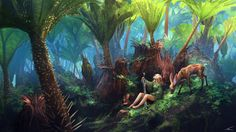 Rhubarb, Thomas Chamberlain - Keen on ArtStation at https://www.artstation.com/artwork/3DPRm