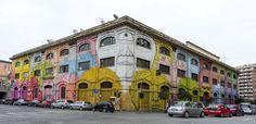 StreetArt Roma: Senza Titolo | Blu | 2013 | Zona: Ostiense | #art #streetart #roma