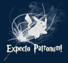 My Patronus is a Pikachu T-Shirt Designed by jessicalessica