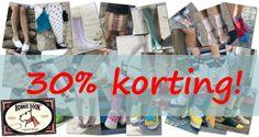 Bonnie Doon Sale  De Bonnie Doon beenmode zomeropruiming is begonnen, met kortingen van 30% op de nieuwe lente- en zomercollectie sokken, panty's en leggings! En zelfs 40 tot 60% korting op eerdere seizoenscollecties.  Ga naar http://www.underfashion.nl/alles/?merk=Bonnie-Doon