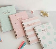 Fashion Cute Notebook Spiral Exercise Book Stationary For School Office Random Color