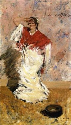 Dancing Girl - William Merritt Chase