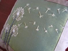 dandelion stitches