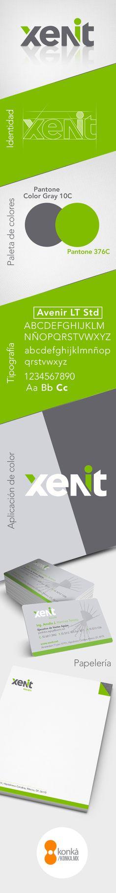 Identidad Corporativa - Xenit