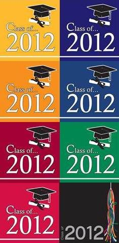 2012 Graduation napkins