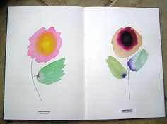 "alan fletcher monographics ""wildflowers"" printed by www.gavinmartin.co.uk/"