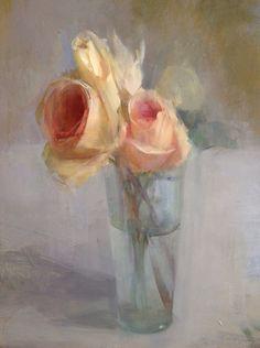 Flower Painting Canvas, Oil Painting Flowers, Contemporary Abstract Art, Renaissance Art, Hanging Art, Botanical Art, Painting Inspiration, Flower Art, Amazing Art