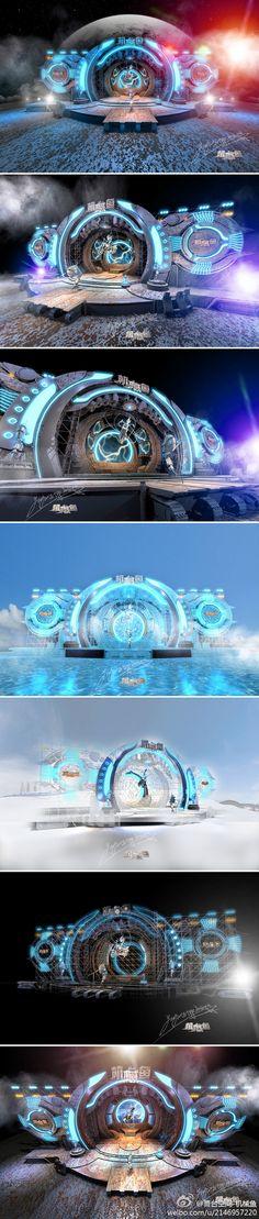 舞台空间-机械鱼的照片 - 微相册