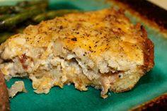 Gluten Free Casually: Cauliflower Cheesey Pie