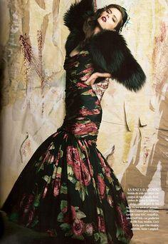 Coco Rocha for Vogue Mexico
