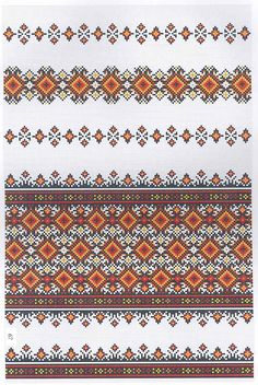 Вишиванка Towel Embroidery, Folk Embroidery, Embroidery Stitches, Cross Stitching, Bohemian Rug, Projects To Try, Traditional, Wool, Embroidery