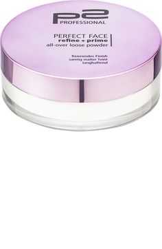 Gesichtspuder perfect face refine + prime all-over loose powder